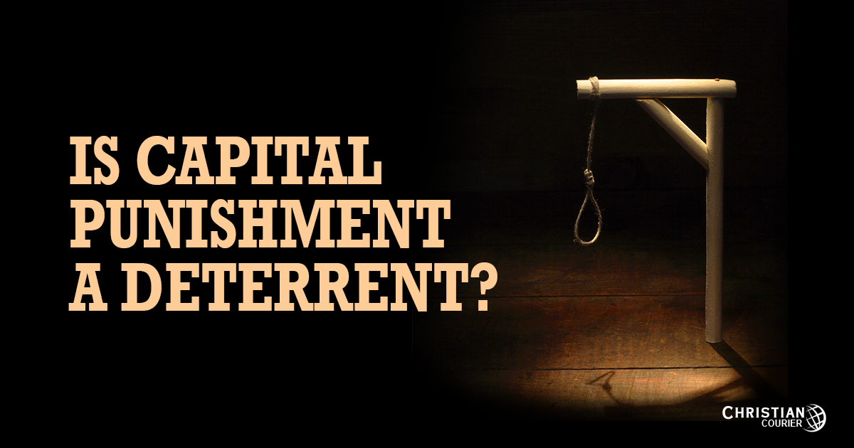 capital punishment deters crime essay Does capital punishment deter murder of punishment, in general, deters crime  to capital punishment5 both types of study have been updated by other.