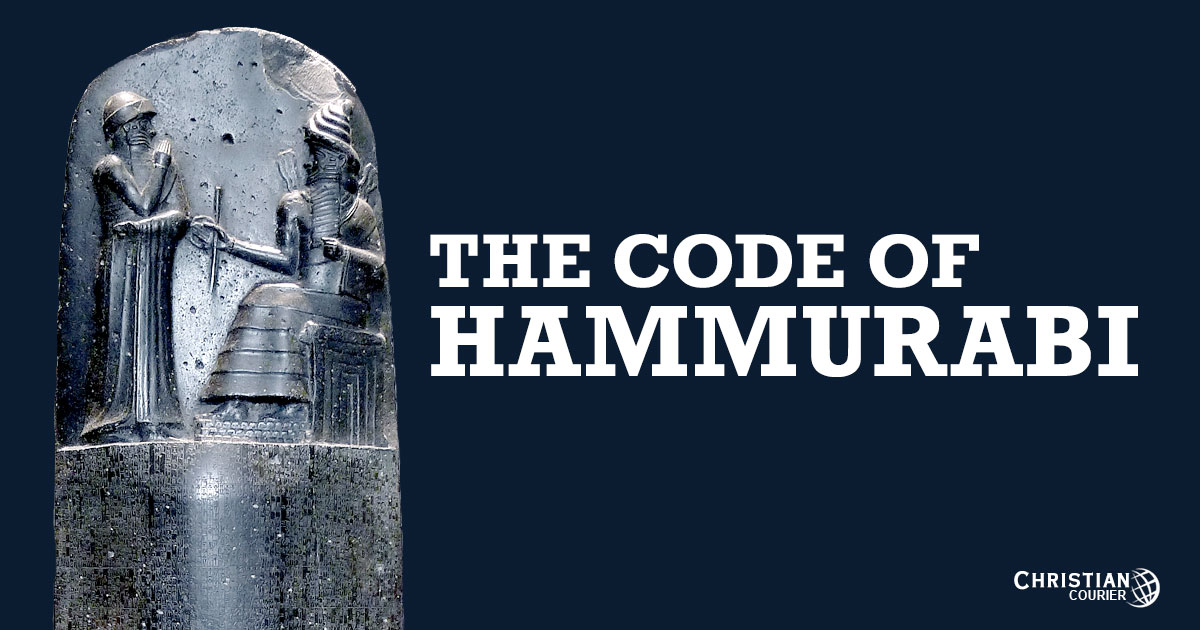 code of hummarabi Note that this compilation includes only a sampling of the laws and that rummel  re-organized them under headings he supplied (he retained the original.